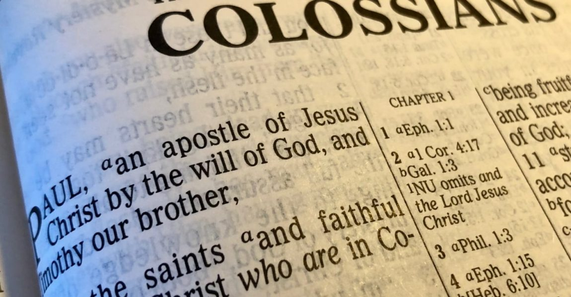 Colossians 1:2 - Saints